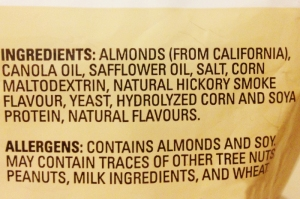 Almonds Label